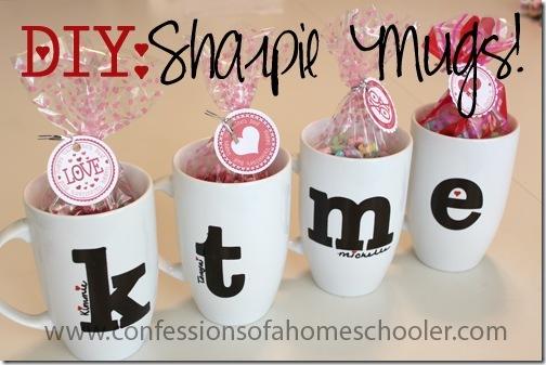 Diy Sharpie Mug Tutorial Confessions Of A Homeschooler