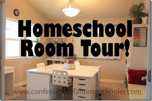 Updated Homeschool Room Tour Confessions Of A Homeschooler